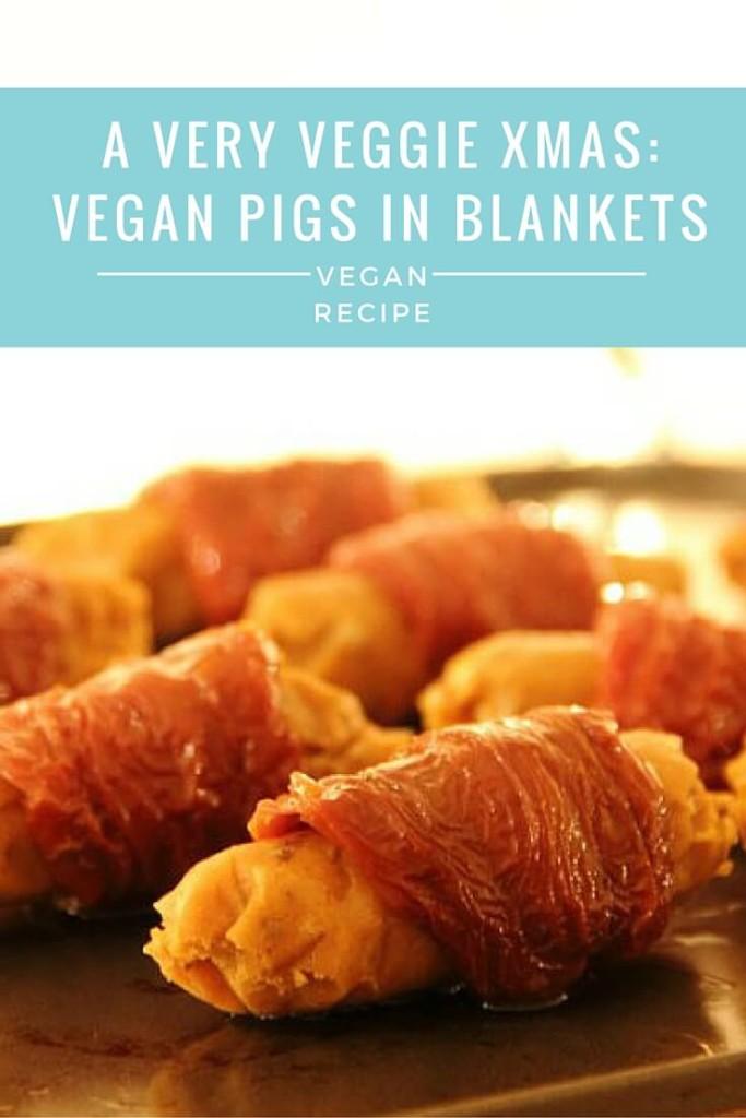 Vegan Christmas Pigs in Blankets