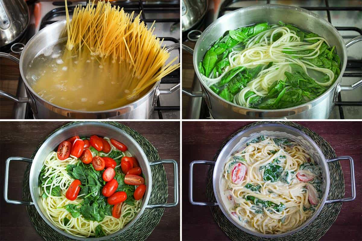 Pasta Cooking and Serving Suggestion