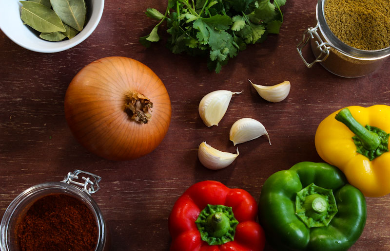 Easy Vegan Chilli Ingredients