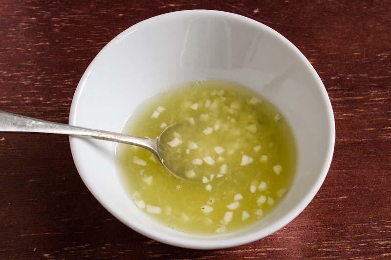 Garlic in Lemon Juice