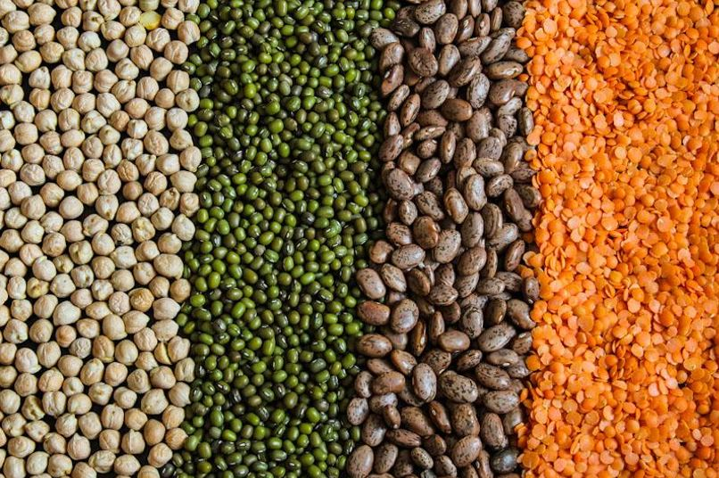 Dried Chickpeas, Dried Beans, Dried Lentils