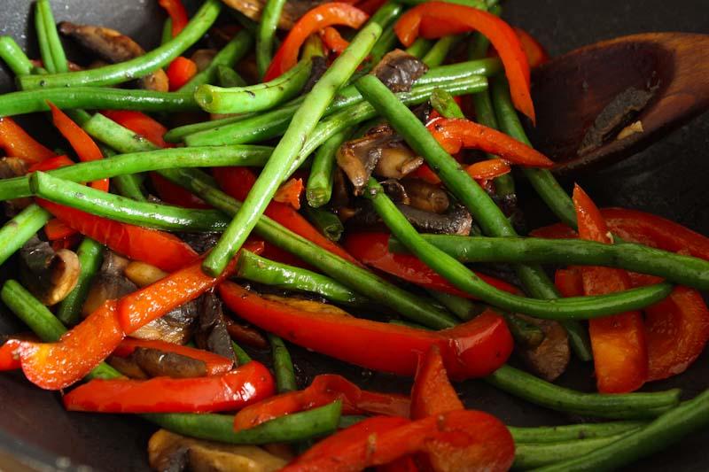 Stir-Fried Veg