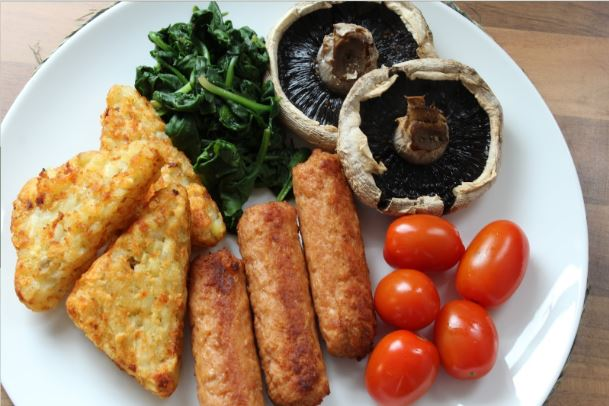 Vegan Meal - Cooked Breakfast
