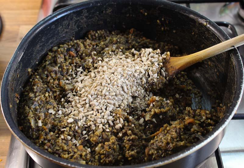 Vegan Haggis Mix with Seeds