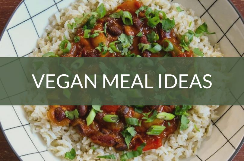 Vegan Meal Ideas Feature