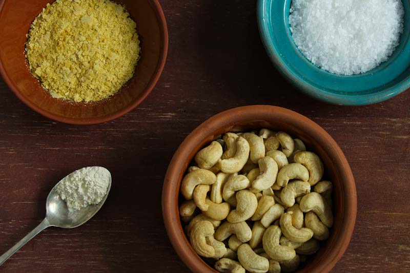 Vegan Parmesan Recipe Ingredients