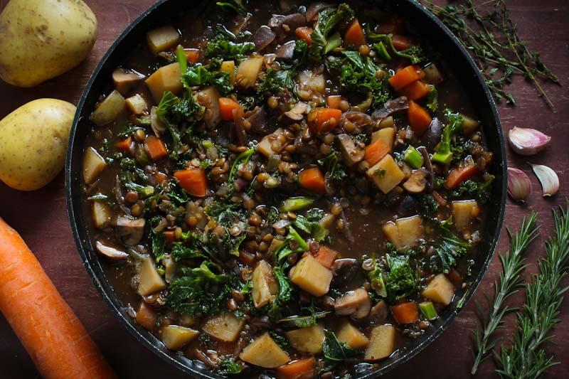 Hearty Vegan Stew
