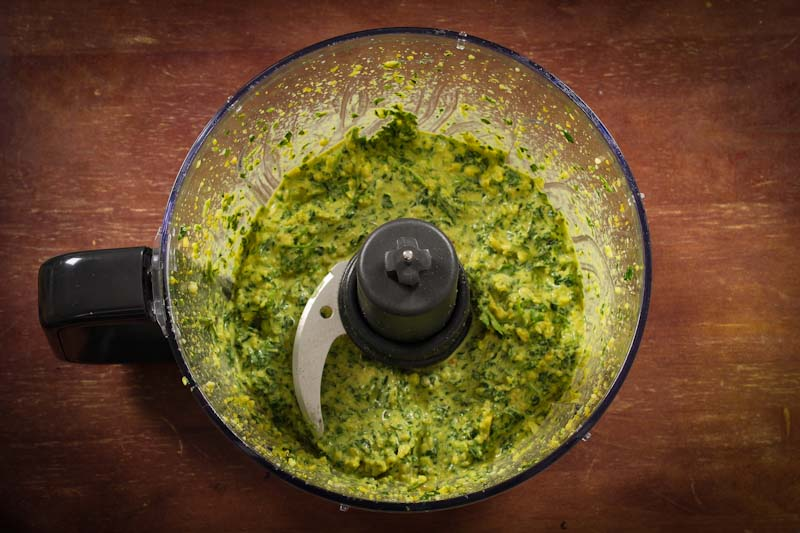 Vegan Pesto Food Processor
