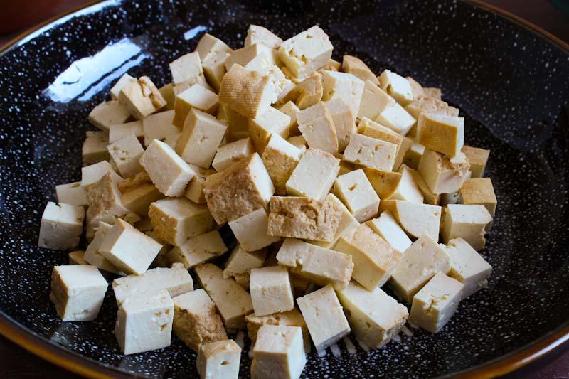 Smoked Tofu Pieces