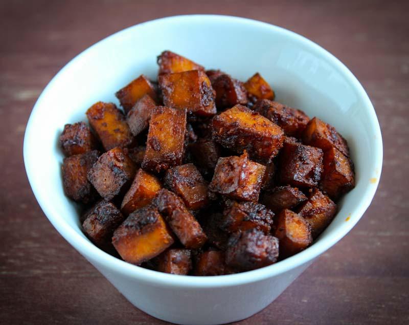 Vegan Bacon Bits In Bowl