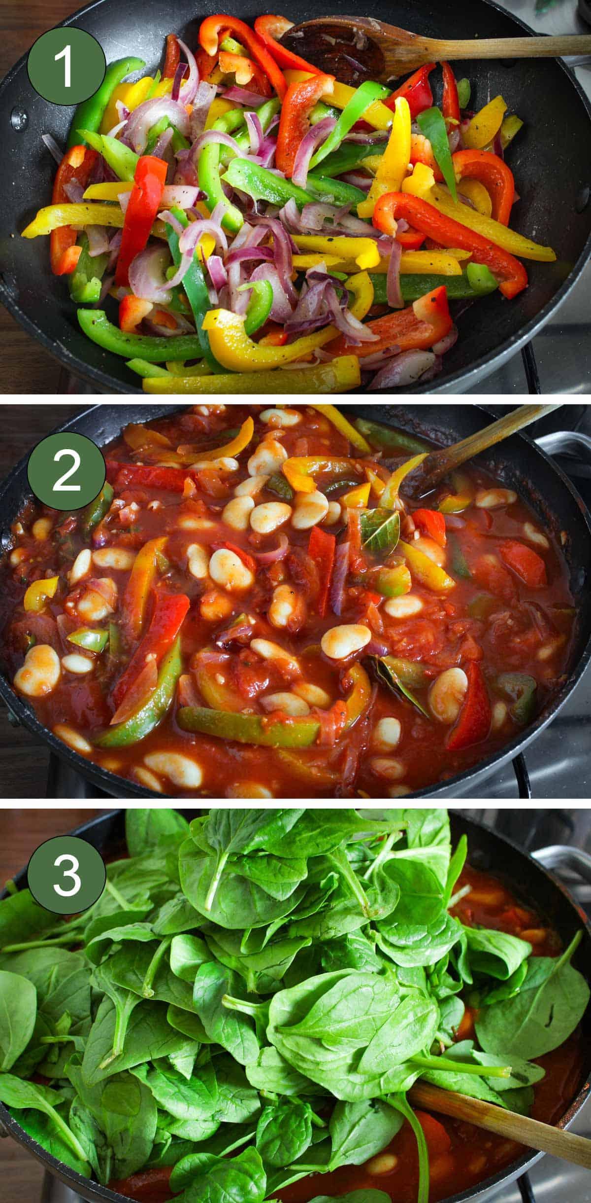 How to Make Butter Bean Stew Process Shots