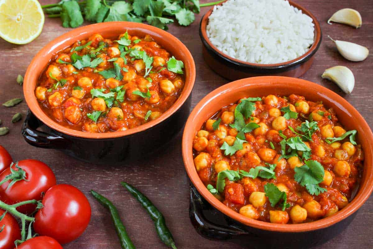 Vegan Chickpea Curry Bowls