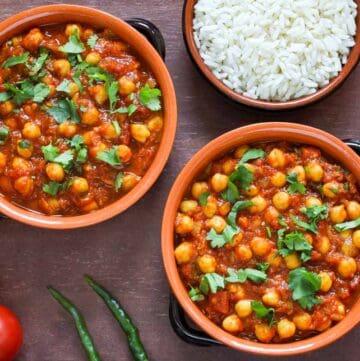 Vegan Chana Masala Feature