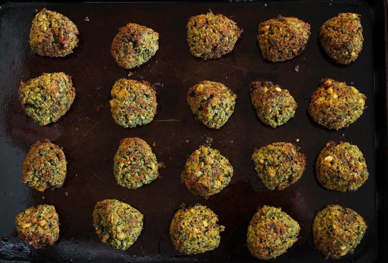 Crispy Baked Falafel Balls