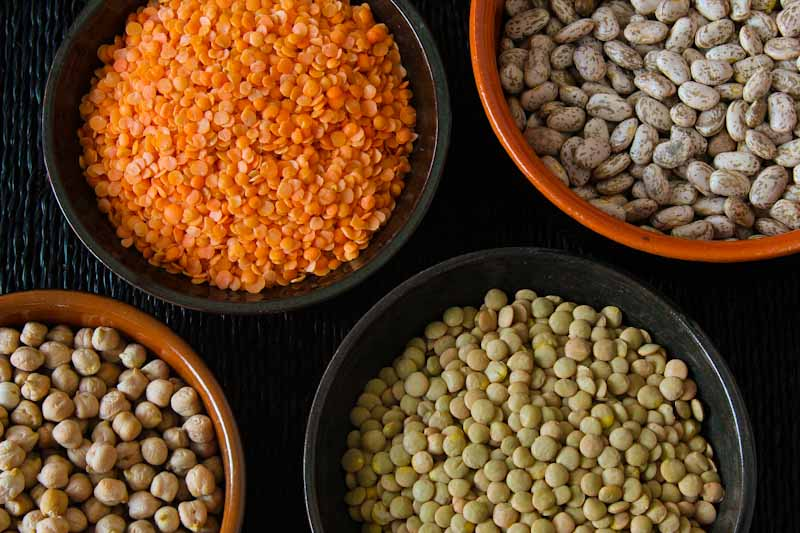 Dried Beans, Chickpeas, and Lentils