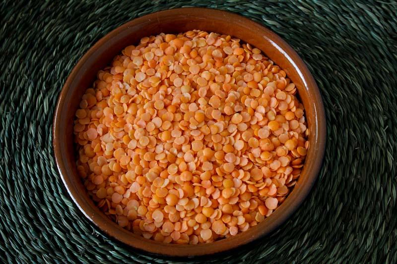 Dried Split Red Lentils