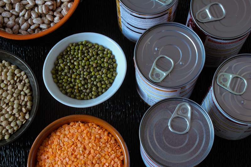 Tinned Pulses and Dried Pulses