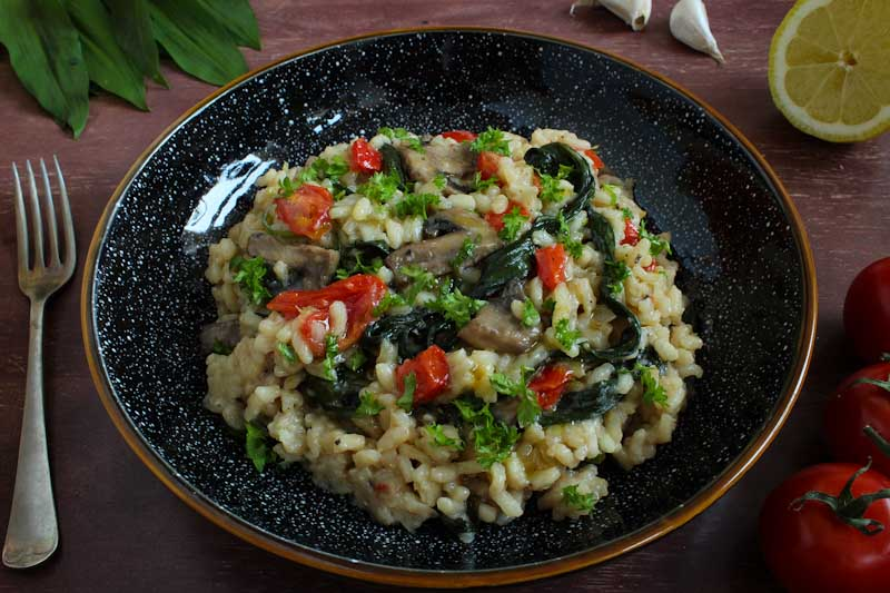 Vegan Risotto Bowl