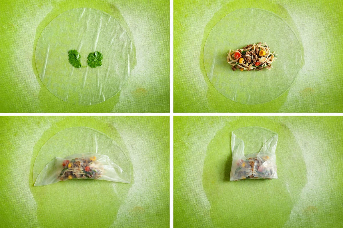 How to Roll Rice Paper