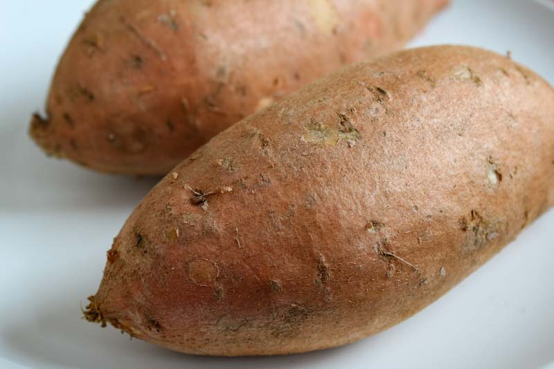 Sweet Potatoes Close-Up