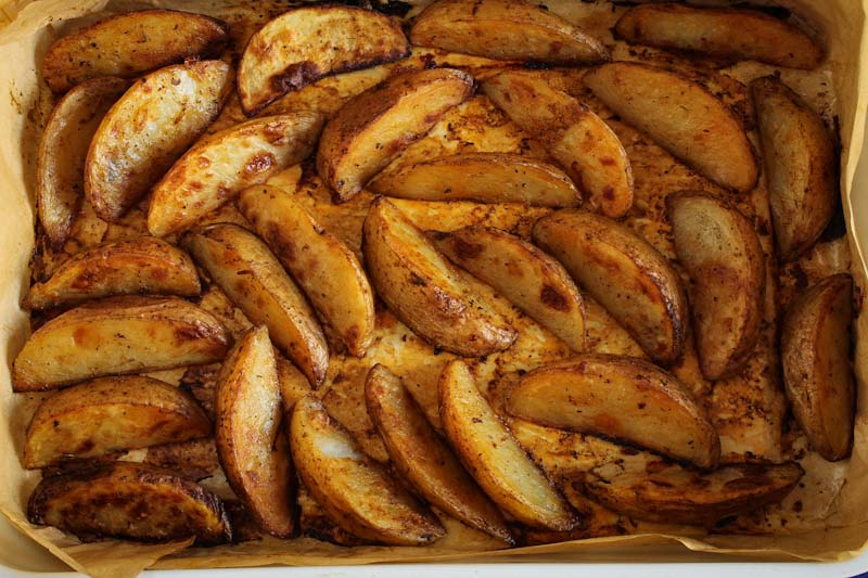 Cajun-Spiced Potato Wedges