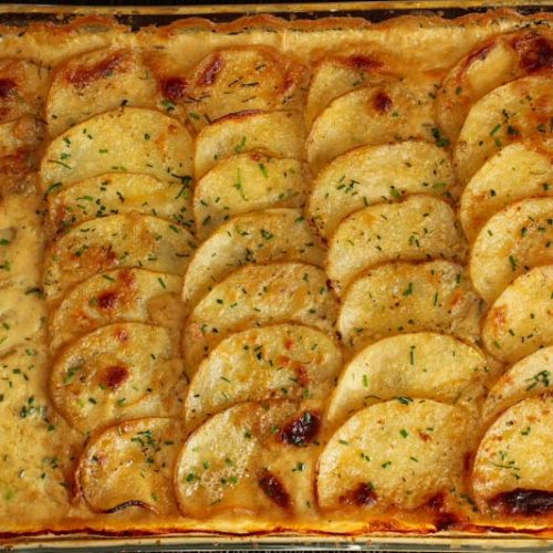 Easy Vegan Scalloped Potatoes Dauphinoise