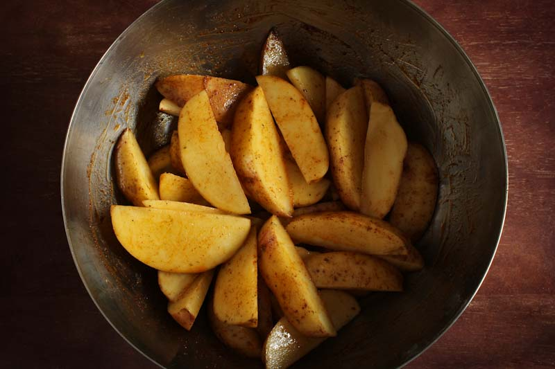Potato Wedges Cajun Spice Mix