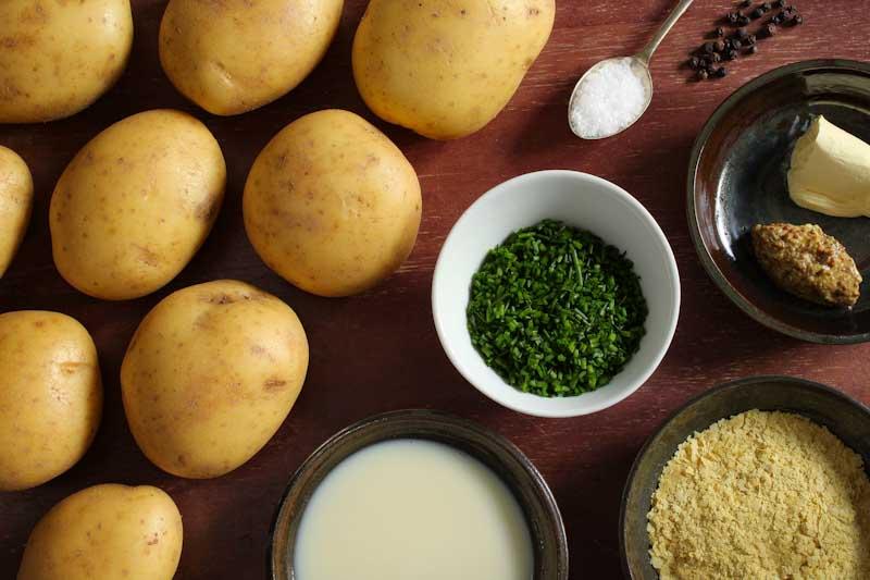 Vegan Mashed Potatoes Ingredients