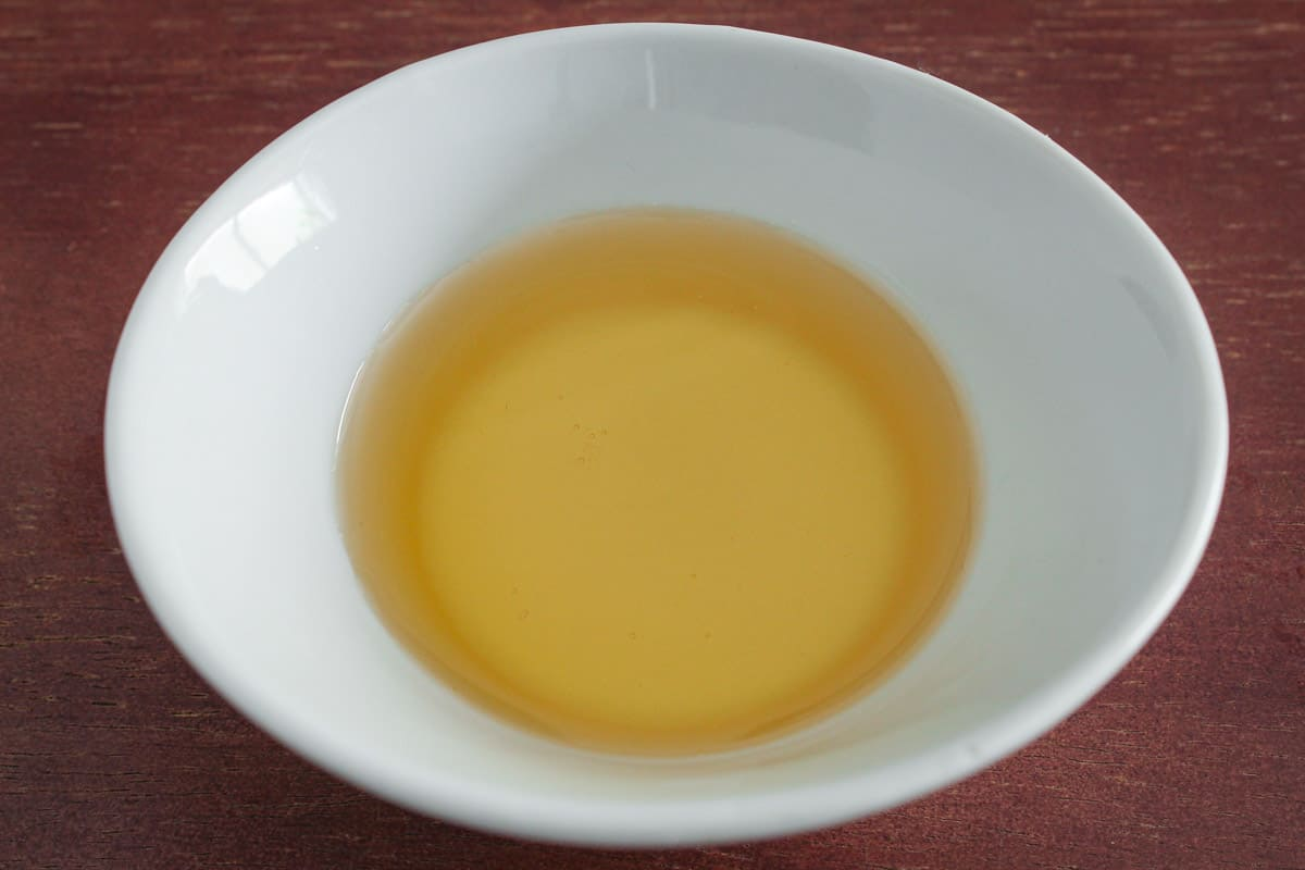 Agave Syrup in Bowl