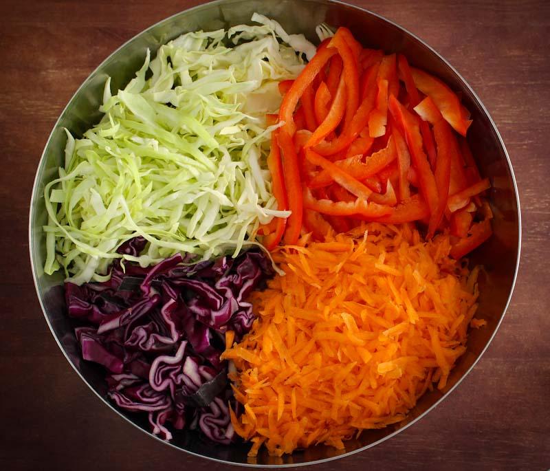 Asian Slaw Shredded Vegetables