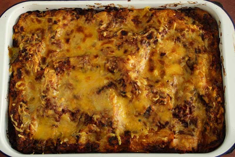 Baked Vegan Gluten-Free Lasagne