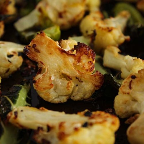 Roasted Cauliflower with Cumin Seeds