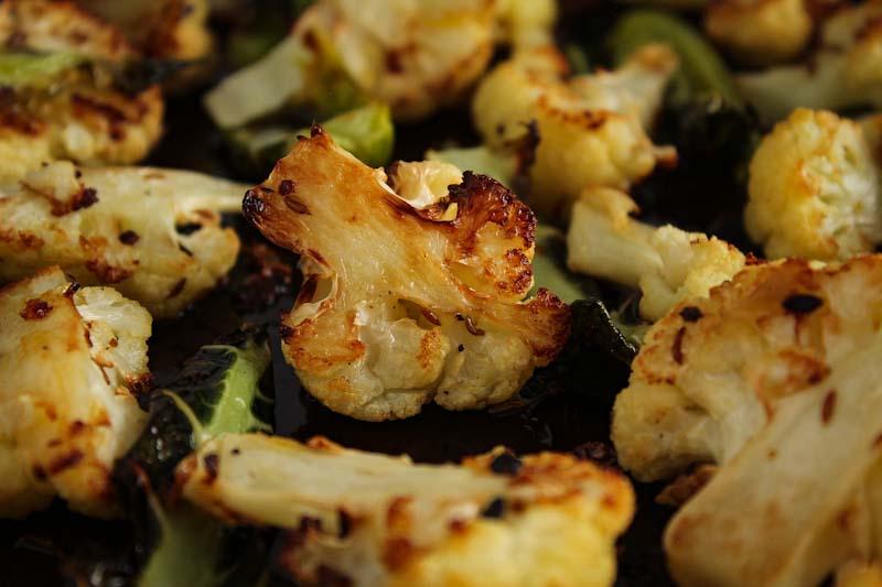 Roasted Cauliflower with Cumin Seeds
