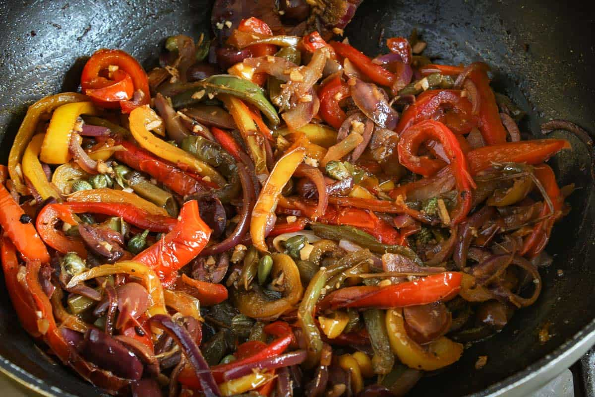 Stewed Pepper Sauce
