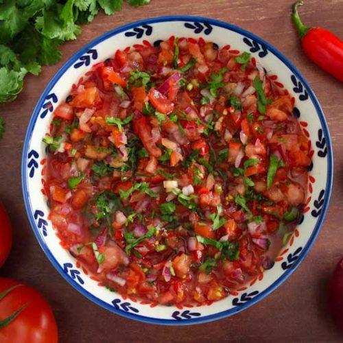 Pico de Gallo Tomato Salsa
