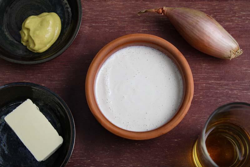Vegan Whisky Cream Sauce Ingredients