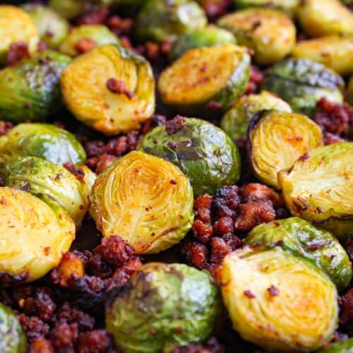 Vegan Sprouts with Crispy Tofu Bacon Feature