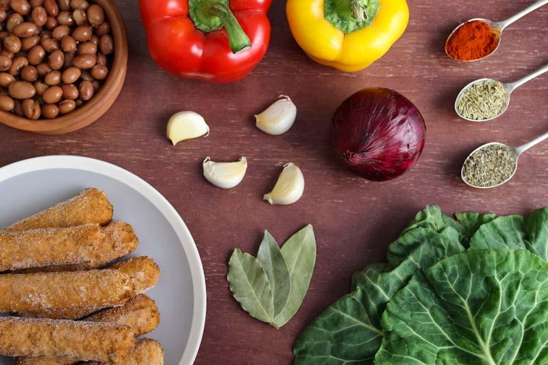 Vegan Sausage Casserole Ingredients