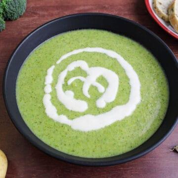 Vegan Broccoli Potato Soup