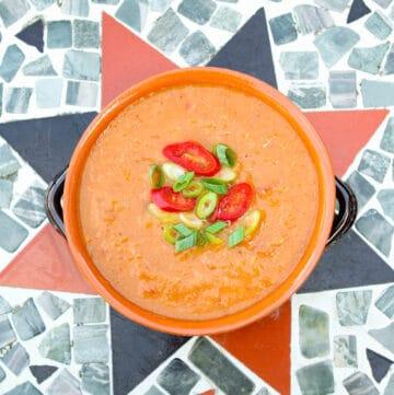 Vegan Pinto Bean Soup Feature
