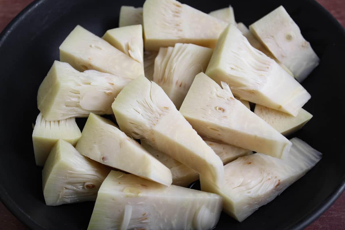 Jackfruit Pieces Close-Up