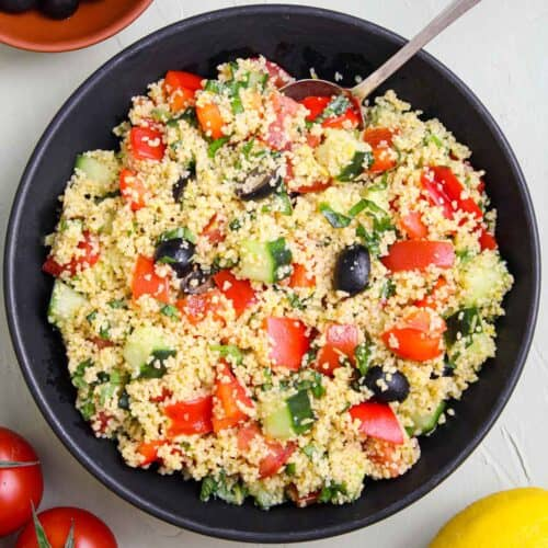 Vegan Couscous Salad Feature