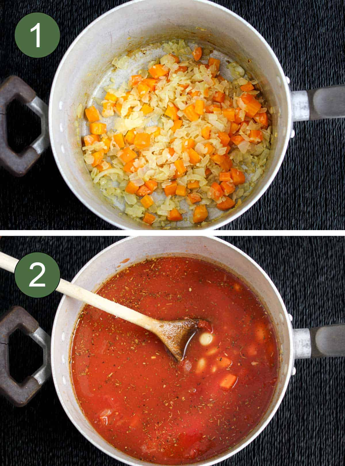 How to Make Butter Bean Soup Process