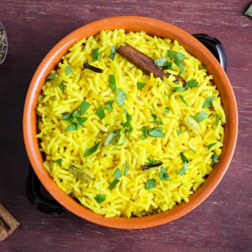 Pilau Rice Dairy-Free Feature