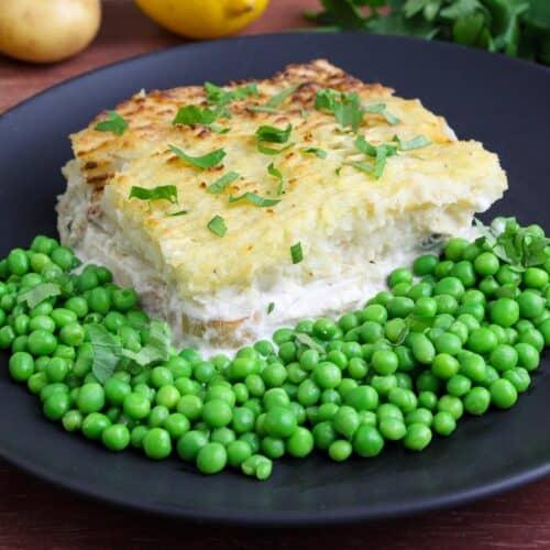 Vegan Fish Pie Feature Image