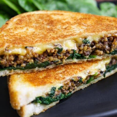 Vegan Haggis Toastie Feature