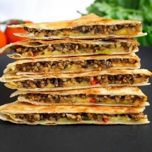 Vegan Haggis Quesadilla Feature