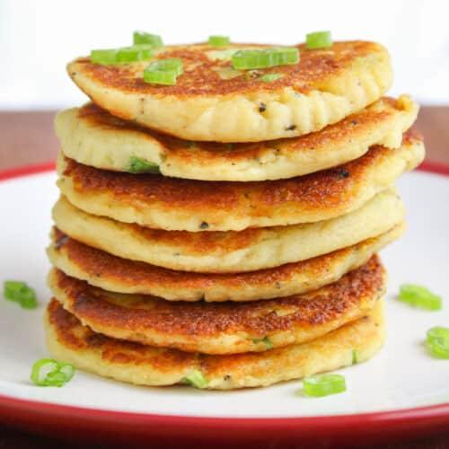 Vegan Potato Pancakes Feature