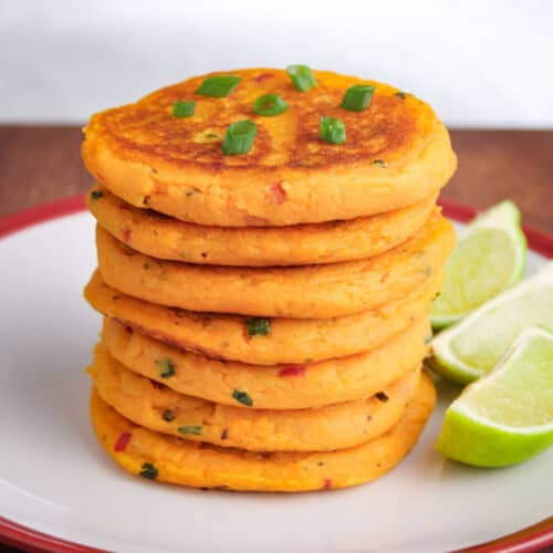 Vegan Sweet Potato Pancake Feature